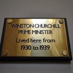 Churchill himself lived at this property, not the dog the politician!