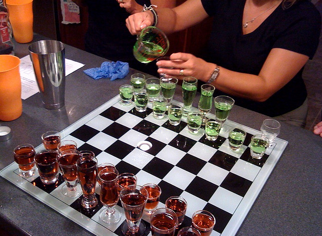 Would YOU Play Drinking Games with Your Estate Agent?