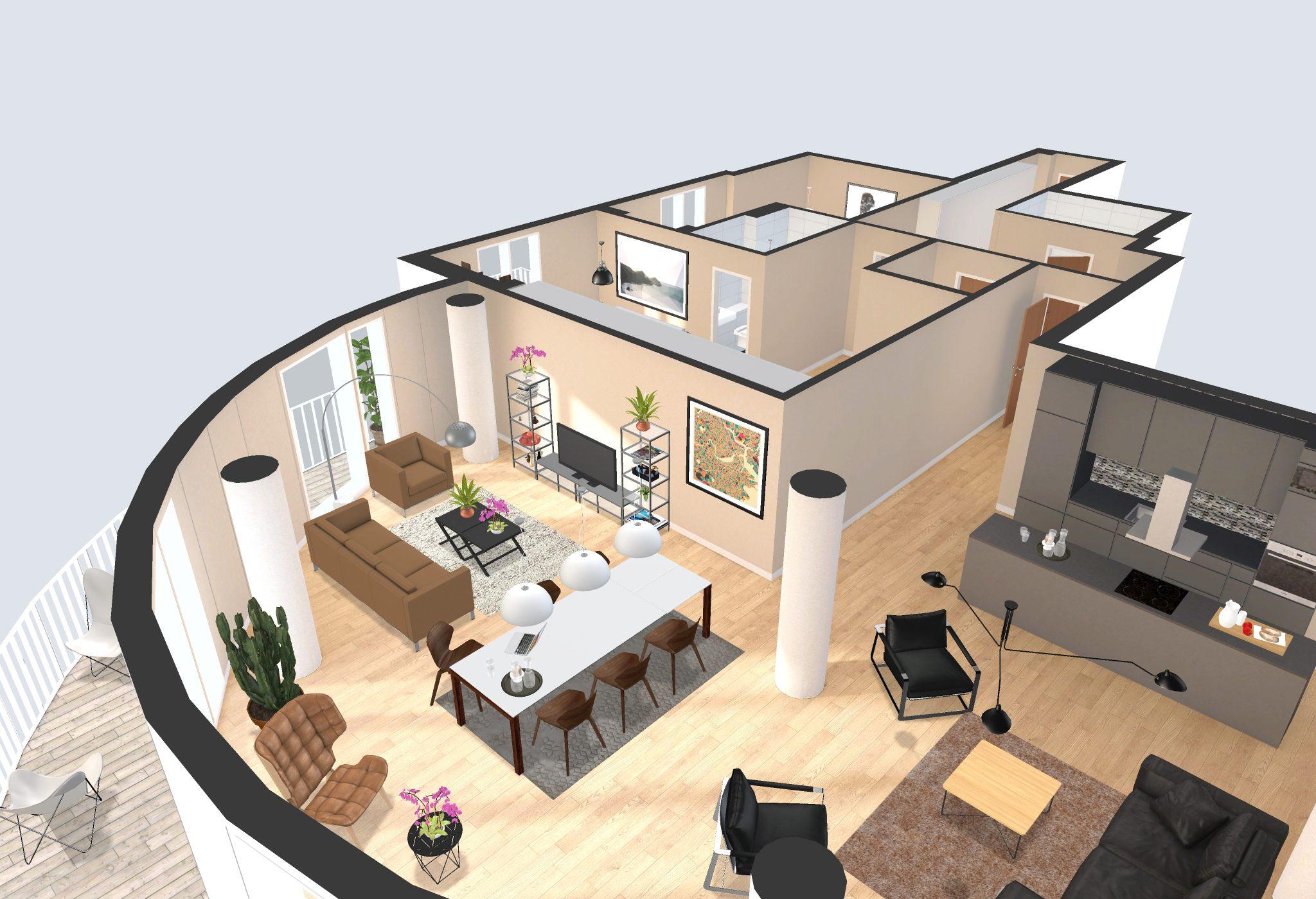Interactive Floor Plan Software Incredible House Designerraleigh kitchen cabinets
