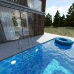 Parallax Swimming Pool
