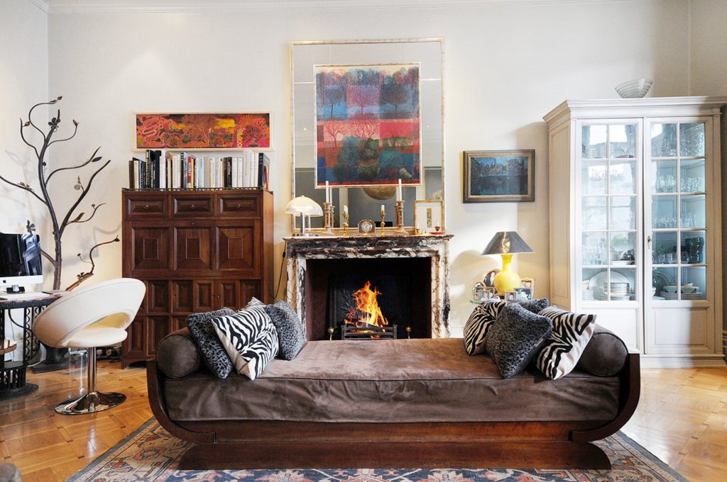 Property Photography with Open Fire